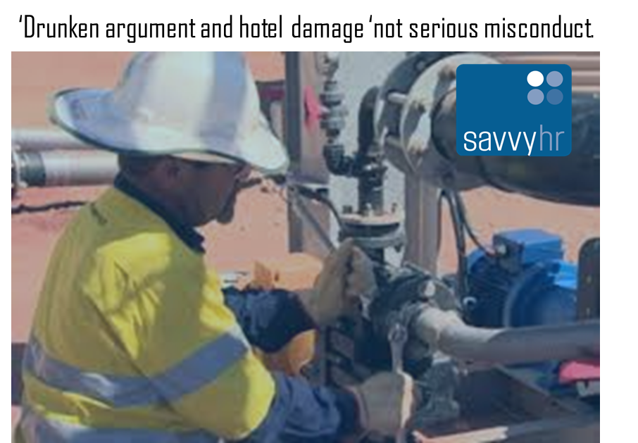 Savvy HR Employer Update Serious Misconduct 1